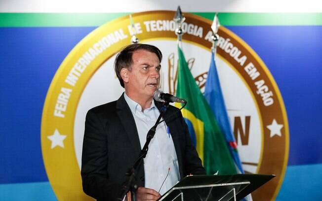 Bolsonaro fez apelo ao Banco do Brasil durante a Agrishow