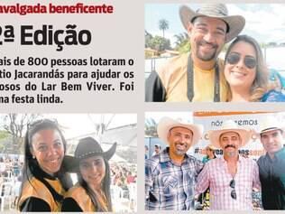 Mais de 800 pessoas lotaram o Sítio Jacarandás para ajudar os idosos do Lar Bem Viver. Foi uma festa linda.