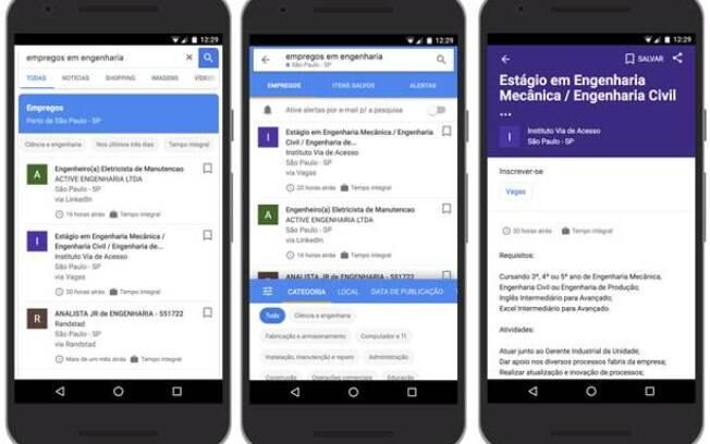 Google já planeja incluir novas ferramentas e filtros no mecanismo de busca de vagas de emprego; confira