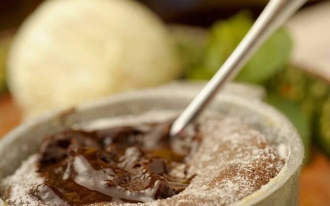 Foto da receita Cascada de chocolate pronta.