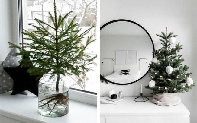 Árvores de Natal pequenas