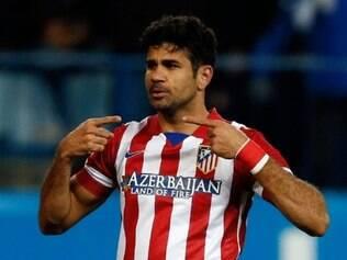 Diego Costa deixou a sua marca mais uma vez e Atlético de Madrid segue na luta pelo título