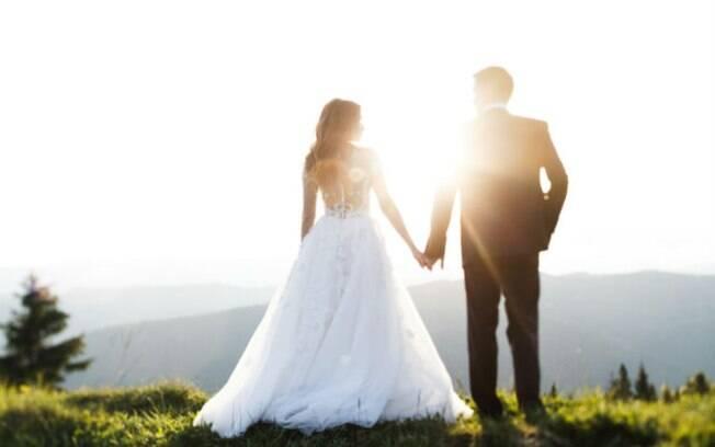Casal decidiu manter o casamento para celebrar os cinco anos de relacionamento que tinham e que chegariam ao fim