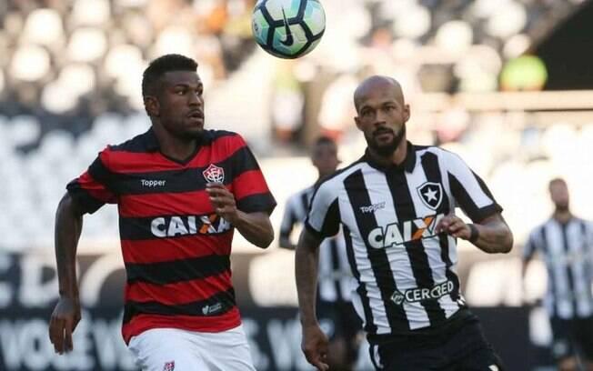 Botafogo x Vitória foi bastante movimentado no Rio de Janeiro