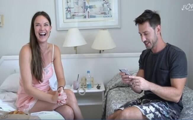 Letícia Birkheur em entrevista para Caio Fischer