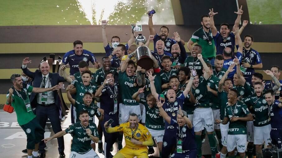 Palmeiras é campeão da Libertadores 2020