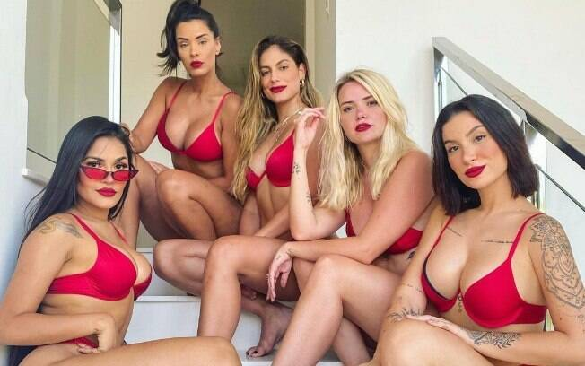 Ex-BBBs: Flay, Ivy, Mari, Marcela e Bianca