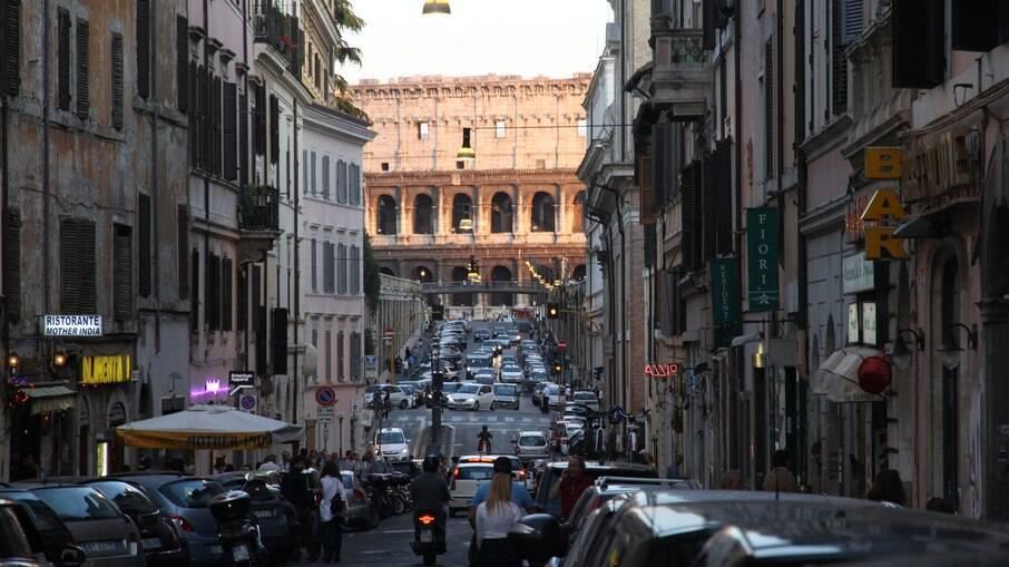 Roma tem diversos hotéis