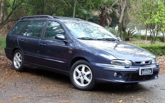 Fiat Marea Turbo: rara perua que vinha com o empolgante motor 2.0. de 182 cv com câmbio manual de cinco marchas