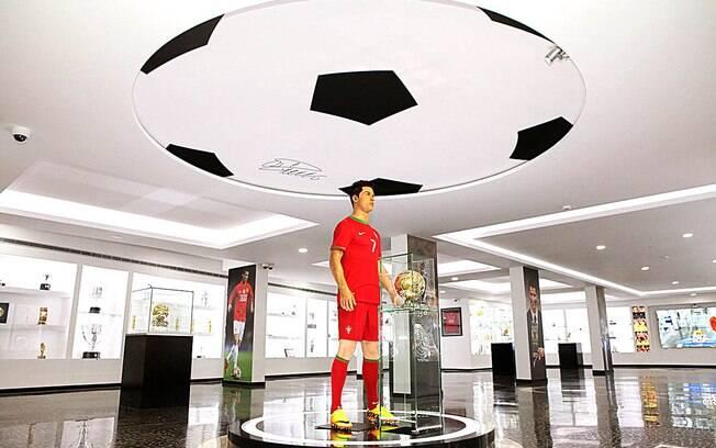 Museu do CR7, na Ilha da Madeira, é ideal para os fãs de futebol – e principalmente do jogador Cristiano Ronaldo