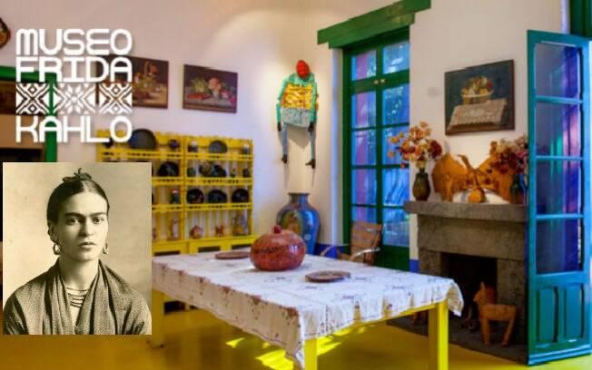 O Museu Frida Kahlo reúne as preferências ideológicas e políticas, o trabalho e estilo de vida da ativista e pintora mexicana Frida Kahlo