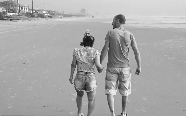 Lia conheceu o marido em um programa, mas foi amor à primeira vista
