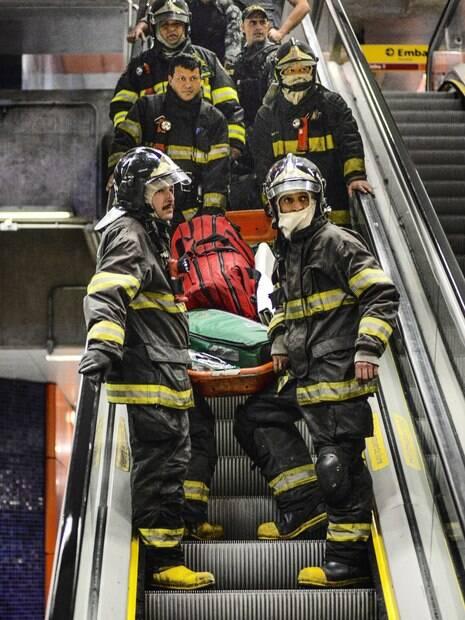 O COPOM é responsável por coordenar ações de resgate e combate desastres efetuadas pelos  Bombeiros