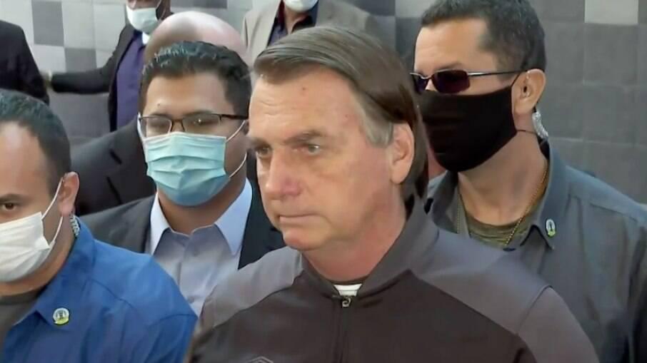 Jair Bolsonaro (sem partido) defendeu o uso de outra medicação não comprovada científicamente contra a Covid