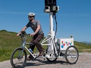 Street View usa triciclos para tirar fotos em lugares de acesso difícil para carros