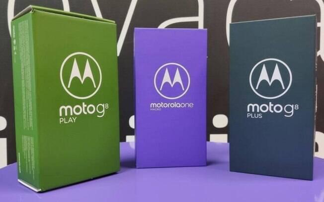 A Motorola lançou quatro novos celulares