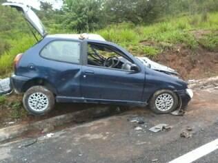 Motorista do Fiat Palio faleceu na hora após o impacto