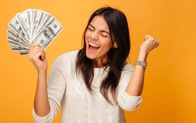Sonhei com dinheiro! Vou ficar rico?