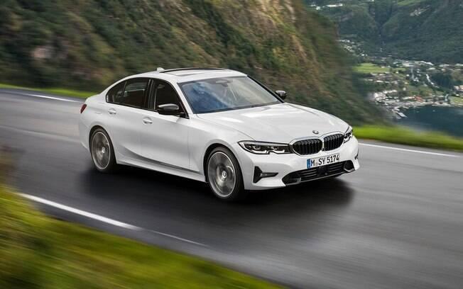 BMW 320i é a versão mais em conta da nova geração do sedã da Série 3 disponível no Brasil