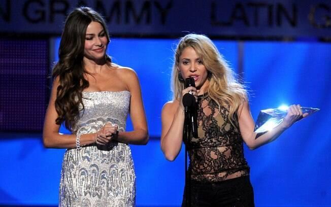 As latinas Shakira e Sofia Vergara