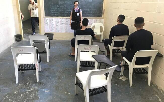 Sala de aula da unidade Vila Maria