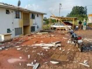 Municípios vizinhos também foram afetados