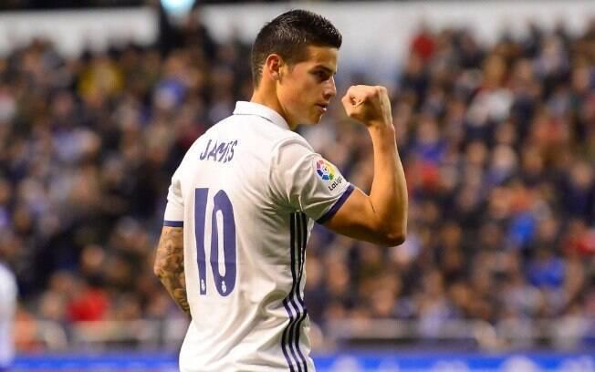 James Rodríguez estava na reserva do Real Madrid e acertou com o Bayern de Munique