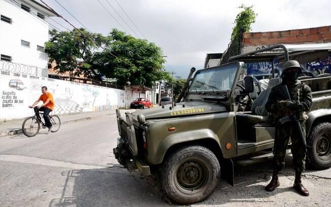 Forças Armadas não têm conseguido reverter índices criminais no Rio de Janeiro