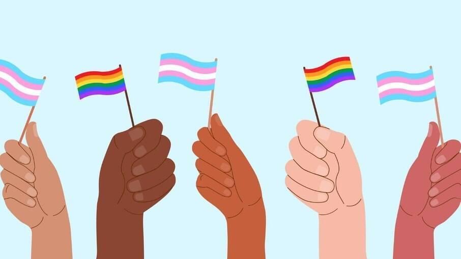 Bandeiras LGBTQIA+