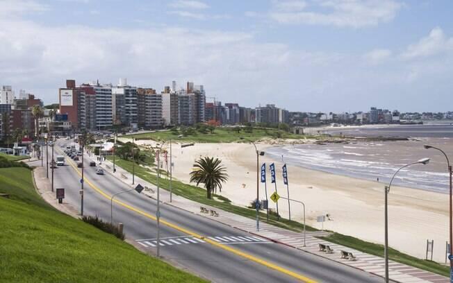 A orla de Montevidéu é formada por mais de 10 praias