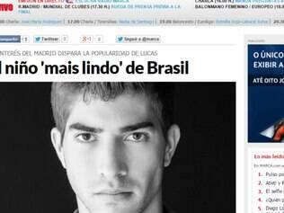 Lucas Silva pode se tornar um garoto propaganda do Real Madrid