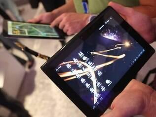 Tablet S possui uma tela de 9,3 polegadas