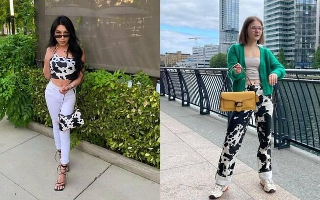 Cow Print: saiba compor looks estilosos com a estampa do momento!