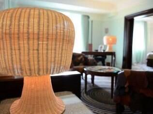As luminárias com cogumelos são uma criação dos designers brasileiros