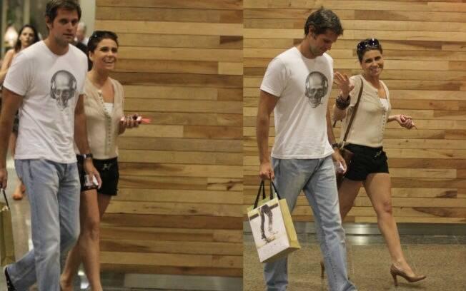 Giovanna Antonelli e o marido, Leonardo Nogueira