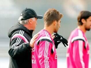 Lucas Silva já realizou o primeiro treino com o time de Carlo Ancelotti