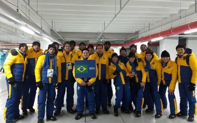 Delegação brasileira nos Jogos Olímpicos de Inverno de PyeongChang