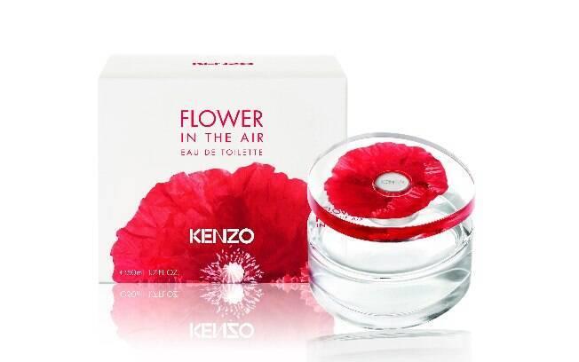 O perfume Flower in the Air Eau de Toilette, da Kenzo, é a versão mais leve da fragrância que já existe no Brasil l R$339 (100 ml)