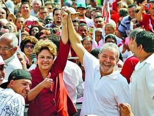 Agenda. Dilma Rousseff participou de carreata ao lado de Lula, ontem, em São Bernardo do Campo