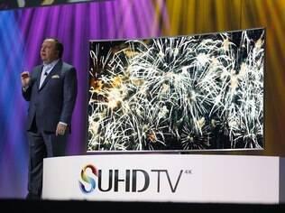 Em 2015 a Samsung continuará apostando no 4K e também nas TVs de tela curva