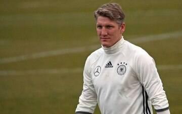 Aos 31 anos, Schweinsteiger anuncia<br> a sua aposentadoria da seleção alemã