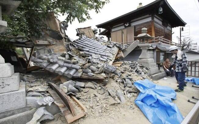 Especialistas japoneses afirmam que este foi o terremoto de maior atividade sísmica de Osaka desde 1923