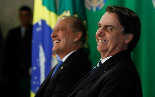 Por seu porta-voz, Bolsonaro afirmou ser