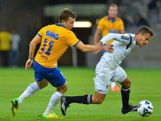 Dagoberto deu passe para o gol de Ricardo Goulart