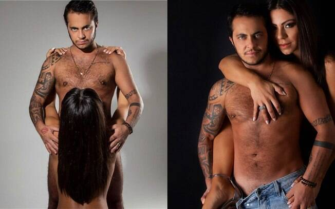 Thammy Miranda compartilha fotos sensuais com esposa repletas de declaração de amor nas redes sociais