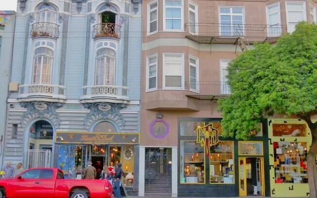 Detalhes de Haight-Ashbury, o bairro que foi berço do movimento hippie