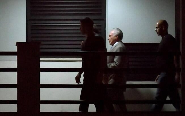 Michel Temer foi detido em São Paulo, mas foi encaminhado à sede da Polícia Federal do Rio de Janeiro