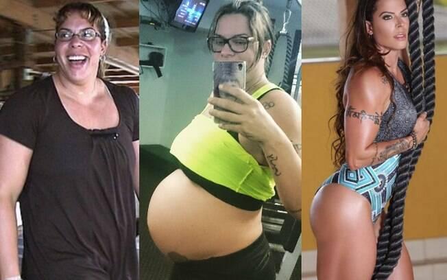 Corpo de Rebeca Gusmão sofreu muitas mudanças ao longo dos últimos dez anos, e, hoje, ela ajuda outras pessoas