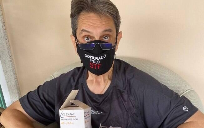 Roberto Jefferson fez propaganda de medicamentos não recomendados pela OMS