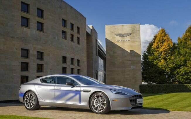 Aston Martin Rapide E: Sem abandonar a classe de James Bond, traz desempenho digno de supercarro, mas sem poluição